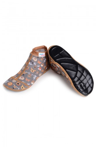 Pool And Beach Shoes رمادي 024