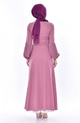 Dusty Rose Dress 0559-06