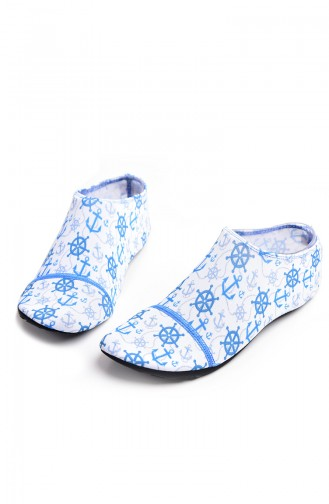 Pool And Beach Shoes أزرق 008