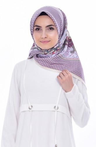 Karaca Patterned Rayon Shawl 90494-11 Cream 11