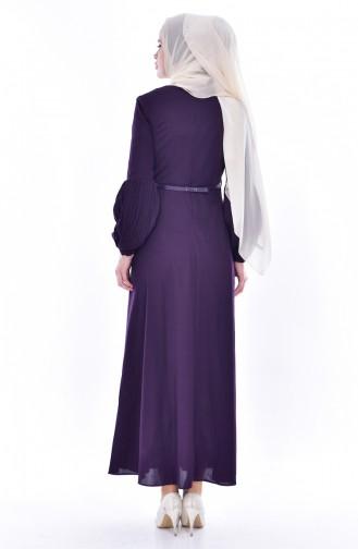 فستان أرجواني 0521-04