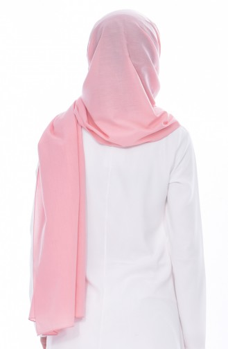 Plain Cotton Shawl 60065-15 Powder 15