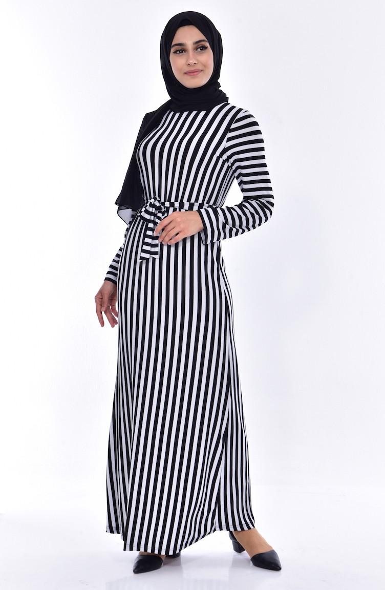 فستان أسود 7282 01 Sefamerve