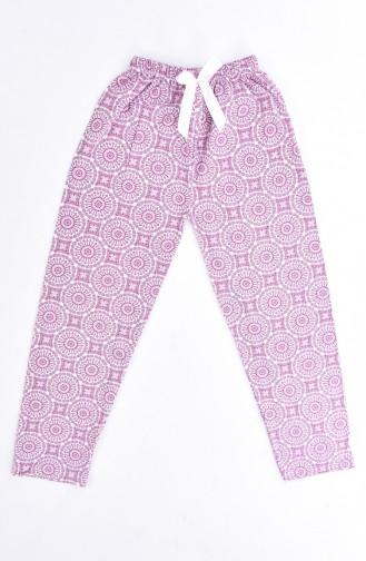 Claret red Pyjama 1401B-01