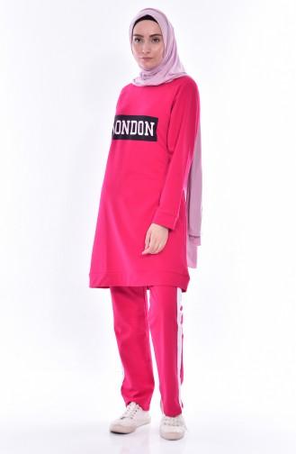 Tracksuit Suit 18049-04 Fuchsia 18049-04