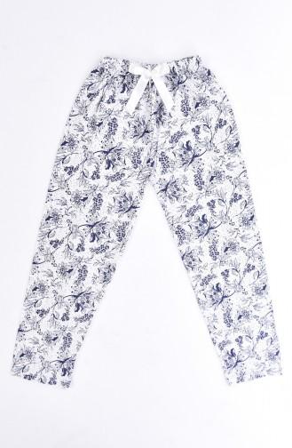 Navy Blue Pyjama 1401A-01