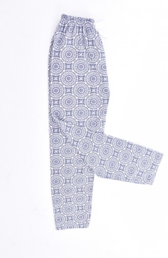 Women´s Bottom Pajamas 1401B-02 Navy Blue 1401B-02