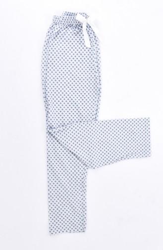 Navy Blue Pyjama 1401E-01