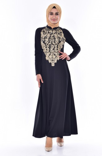 Lace Dress 4466-05 Black 4466-05
