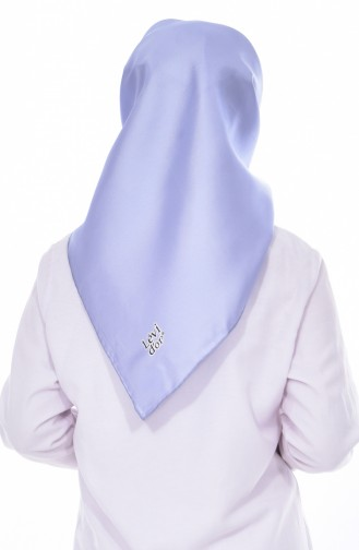 Levidor Kopftuch aus Seide 90426-24 Baby Blau 24