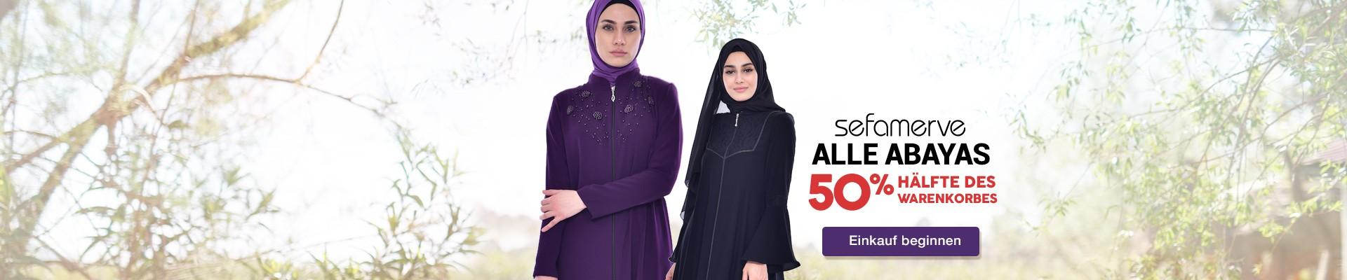 Alle Sefamerve Abayas 50% im Warenkorb