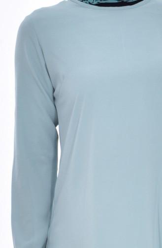 Asymmetric Tunic 1220-10 Green 1220-10