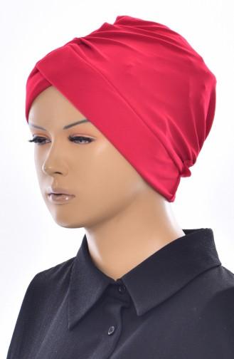 Bonnet de Bain Croisé 0018-22 Rouge 0018-22