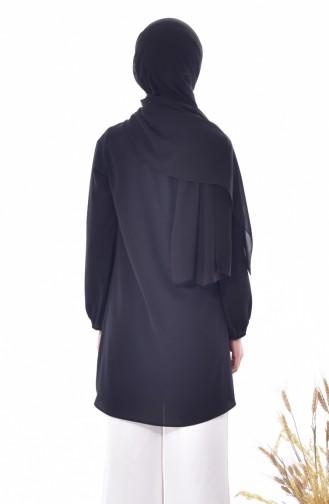 Lace Pearl Tunic 0814-01 Black 0814-01