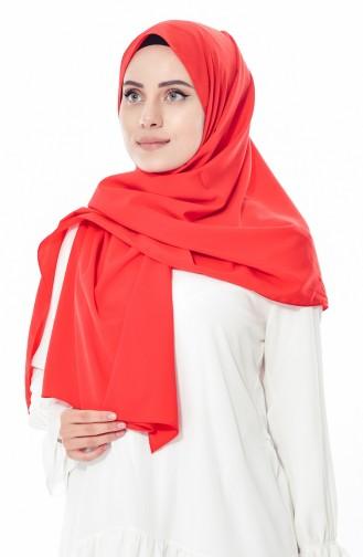 Plain Shawl 2344-01 Red 2344-01