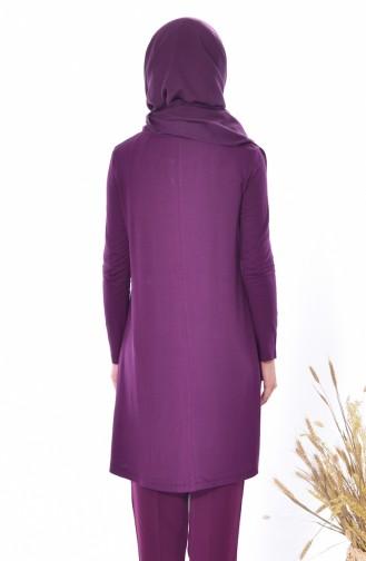 Purple Tunic 0721-04