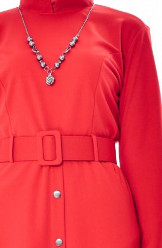 Kleid mit Halskette 1864-07 Rosa 1864-07