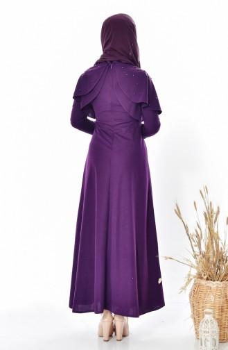 فستان أرجواني 0555-06