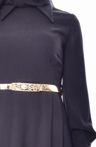 Robe a Ceinture 1401-01 Noir 1401-01
