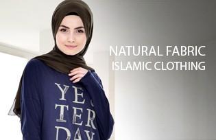Sefamerve Natural Fabric Islamic Clothing