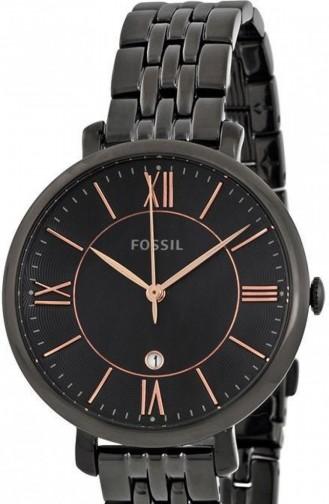Schwarz Uhren 3614