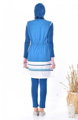 Vest Swimsuit Suit 1275-03 Petrol 1275-03