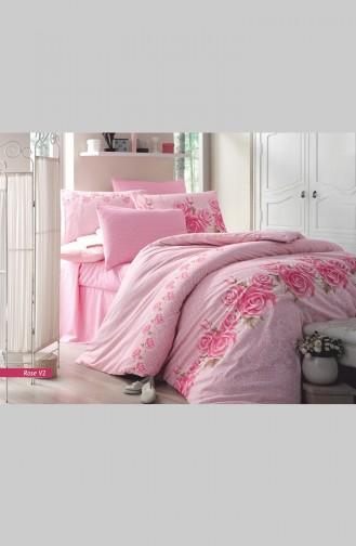 Rose Single Duvet Cover Set 0001-01 0001-01