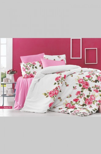 Roza Single Duvet Cover Set 0001-01 0001-01