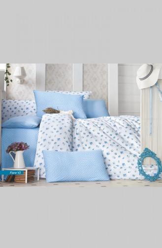 Mavi Beyaz Linens Set 0001-V2