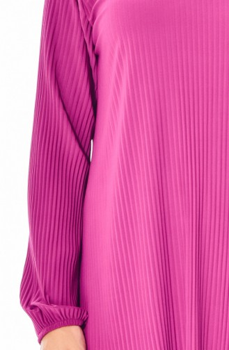 Pleated Tunic Trousers Double Suit 1970-13 Dark Fuchsia 1970-13