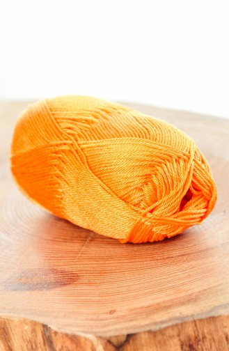 Orange Knitting Rope 0336-0010
