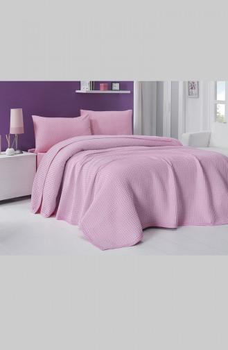 Cotton Single Duvet Cover Set 0003-02 Pink 0003-02