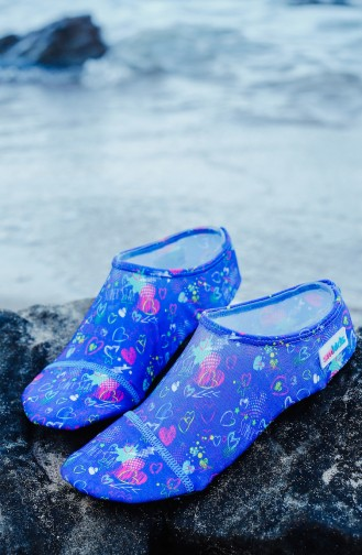 Pool And Beach Shoes أزرق 1000-03
