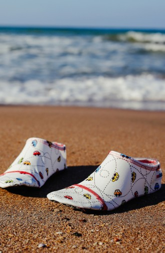 Pool And Beach Shoes أبيض 1000-11