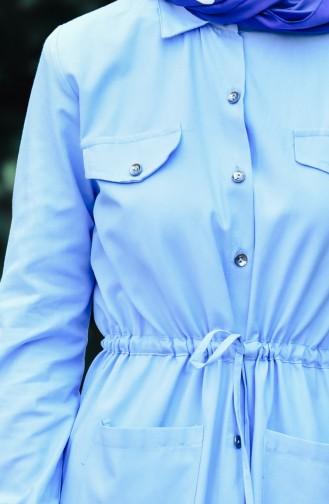 Buttons Long Tunic 1164-06 Blue 1164-06