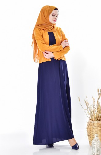 Suit Looking Dress 5739-01 Mustard 5739-01