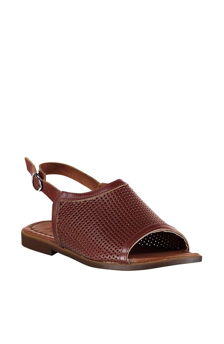 Sandales Pour A3009 18 Cuir Brun 3009 Femme 03 ALq35R4j