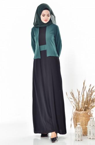 Robe 5739-02 Vert emeraude 5739-02