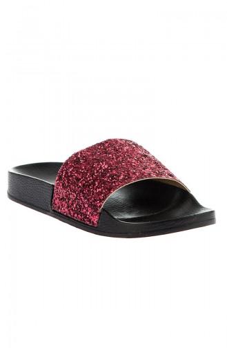 Red Summer Sandals 8801-18-02