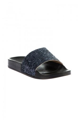 Navy Blue Summer Sandals 8801-18-01