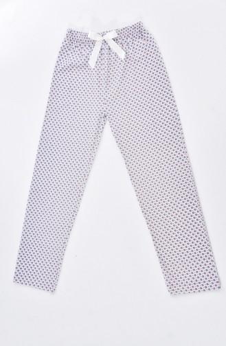 Women´s Bottom Pajamas 1401E-02 Black 1401E-02