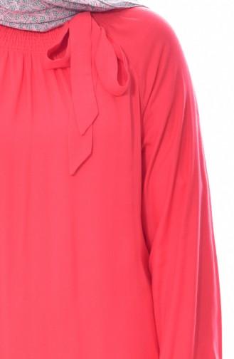 Robe Manches élastique 3002-01 Corail 3002-01