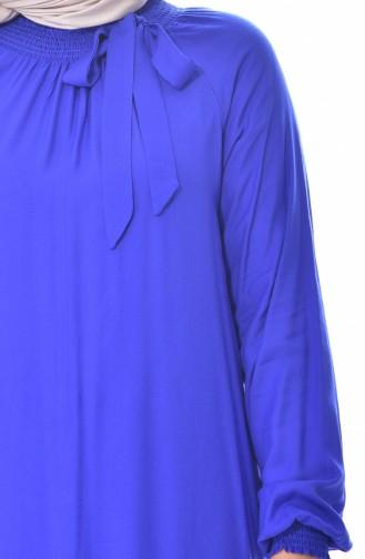 Robe Manches élastique 3002-04 Bleu Roi 3002-04