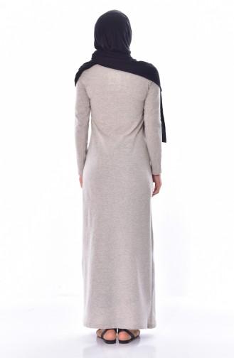 Robe Bordée 2876-12 Beige 2876-12
