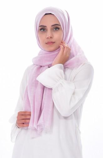 AKEL Flamed Cotton Shawl 001-385-31 Powder Cream 001-385-31