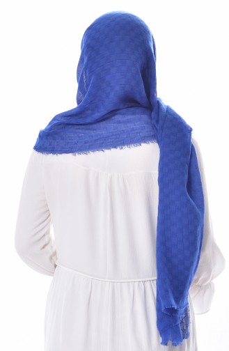 U.S POLO ASSN. Embroidered Wrinkled Cotton Shawl 38-B-3552 38-B-3552