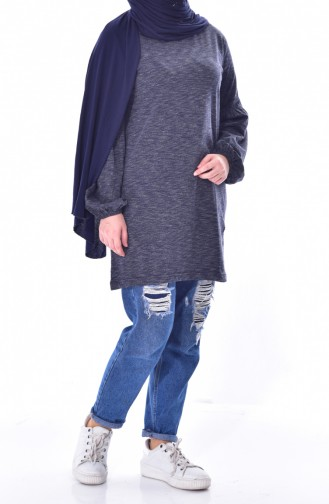 Anthracite Blouse 6400A-01