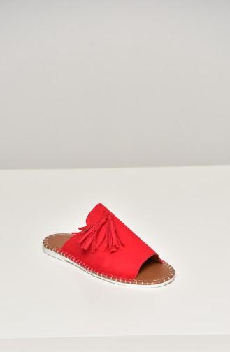 Red Summer Sandals 90-18-05