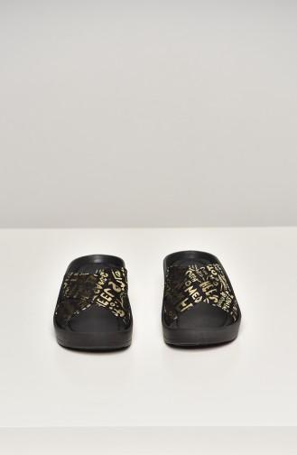 Black Summer Sandals 16294-18-01