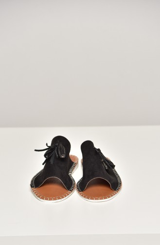 Black Summer Sandals 90-18-02